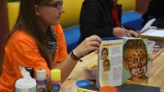 Kinderschminken / Kinderanimation / Kinderevent / Animation / Schminken / Gesichtsfarbe / inkl. Material / 2 Betreuer bis zu 6 Stunden