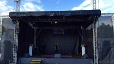 Open Air Bühne, Event Bühne, Konventionelle Bühne, 6 x 8 x 5m