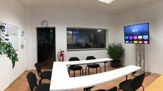 TV und Monitor Fuß / Truss-Stand / inkl. Auf- und Abbau