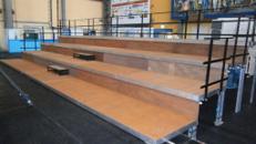 Tribüne 4 x 10 m/  in verschieden Größen erhältlich