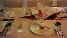 Menüteller 30 Stück / Teller / Geschirr / Speiseteller / Speisegedeck / Essen