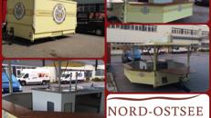 Bierwagen/Schankwagen/Ausschankwagen/Bierpilz/Bierstand/Verkaufswagen mit großer Zapfanlage