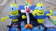 Kunterbuntes Kinderprogramm für Ihr Firmenevent, Ballonclown, Zauberer, Kinderdisco, Kinderparty, Ballontiere, Ballonkünstler, Ballonfiguren, Spielshow, Rateshow, Moderation