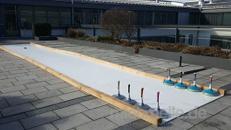 Eisstockbahn / Fun Curling mieten