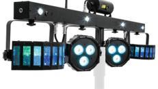 Lichteffektleiste mit LED und Laser