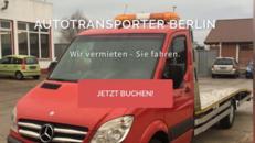 Abschleppwagen/Autotransporter mieten,leihen