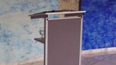 Rednerpult, Stehpuhlt, Präsentation