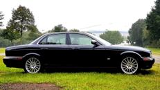 Jaguar XJ Limousine Hochzeitsauto ohne Chauffeur