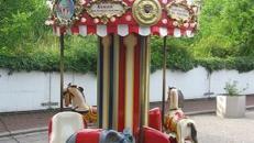 6 sitziges Karussell ~ Kinderkarussell ~ Nostalgiekarussell