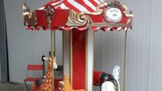 7 sitziges Karussell ~ Kinderkarussell ~ Nostalgiekarussell