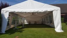 12x6m Zelt für alle Arten von Veranstaltungen, Partyzelt, Festzelt, Eventzelt, Pagodenzelt, Pavillon