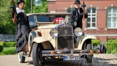 Oldtimer Hochzeitsauto - Cabriolet von 1931