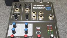 Multimix 4-Kanal-USB-Mixer Alesis