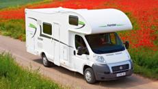 Alkoven-Wohnmobil bietet großzügigen Platz für 6 Personen mieten