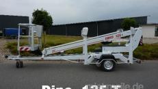 Anhänger Arbeitsbühne Dino 125T