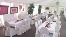 Firmenfeier, Hochzeit, Geburtstag, Jubiläum - mobile Location + Ausstattung für Ihr Event 101 - 200 Personen first class