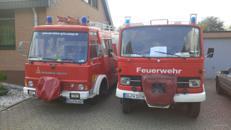 Kindergeburtstag  Feuerwehrfahrzeug LF8 Oldtimer