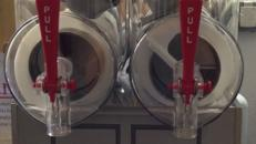 Slush Ice Maschine Doppelkammer 2x12 ltr. Profigerät