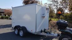 Kühlanhänger Kühlkoffer Anhänger Umzug zu mieten zu vermieten Neu