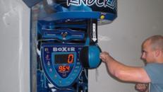 Boxautomat / Punching Ball / Punch Action / Schlagkraftmesser / Kirmes Automat
