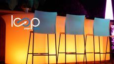 LED Bar CURVY // Theke // Lounge //Tresen // Empfang