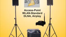 Musikanlage - Soundsystem - Satellitenanlage - HK-Audio - Lautsprecher drahtlos für WLAN / Airplay / DLNA - 600 Watt RMS Gesamtleistung teilen sich in 300 Watt im Bass