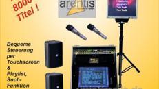 Einmalige Karaokeanlage PC TOUCH mit knapp 8000 Titeln aus amtlicher Produktion, Komplett-System mit Jukebox-Software