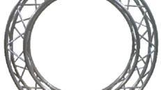 4 Punkt Traversenkreis F34, 4 Meter Durchmesser außen für Messestand