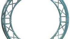 3 Punkt F33 Messekreis/Traversenkreis Durchmesser 600cm, 50mm Rohre