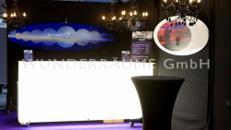 Bartresen hinterleuchtet - WUNDERRÄUME GmbH vermietet: Dekoration/Kulisse für Event, Messe, Veranstaltung, Incentive, Mitarbeiterfest, Firmenjubiläum