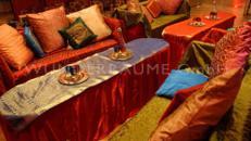 Loungetisch Orient - WUNDERRÄUME GmbH vermietet: Dekoration/Kulisse für Event, Messe, Veranstaltung, Incentive, Mitarbeiterfest, Firmenjubiläum