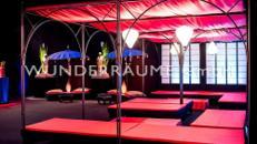 Asienpavillon rot - WUNDERRÄUME GmbH vermietet: Dekoration/Kulisse für Event, Messe, Veranstaltung, Incentive, Mitarbeiterfest, Firmenjubiläum