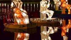 Lichtfiguren - WUNDERRÄUME GMBH vermietet: Dekoration/Kulisse für Event, Messe, Veranstaltung, Incentive, Mitarbeiterfest, Firmenjubiläum