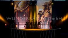 """Dekobanner """"Amerika"""" - WUNDERRÄUME GMBH vermietet: Dekoration/Kulisse für Event, Messe, Veranstaltung, Incentive, Mitarbeiterfest, Firmenjubiläum"""