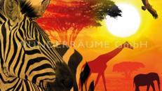 "Leinwanddruck ""Tiere  Afrika"""