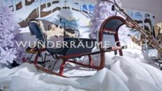 10 Schlitten / Pferdeschlitten - Nostalgie; WUNDERRÄUME GmbH vermietet: Dekoration / Kulisse für Event, Messe, Veranstaltung, Incentive, Mitarbeiterfest, Firmenjubiläum
