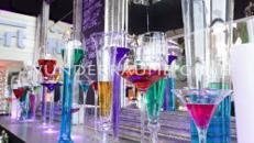 Glasvasen-Set XXL - WUNDERRÄUME GMBH vermietet: Dekoration/Kulisse für Event, Messe, Veranstaltung, Incentive, Mitarbeiterfest, Firmenjubiläum