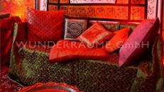 Sofa Orient 2 - WUNDERRÄUME GmbH vermietet: Dekoration/Kulisse für Event, Messe, Veranstaltung, Incentive, Mitarbeiterfest, Firmenjubiläum