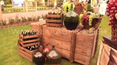 """Dekoset """"Wein""""- WUNDERRÄUME GmbH vermietet: Dekoration/Kulisse für Event, Messe, Veranstaltung, Incentive, Mitarbeiterfest, Firmenjubiläum"""