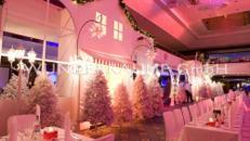 weiße Häuserkulissen - WUNDERRÄUME GMBH vermietet: Dekoration/Kulisse für Event, Messe, Veranstaltung, Incentive, Mitarbeiterfest, Firmenjubiläum