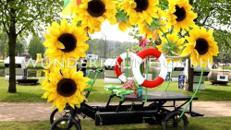 Sonnenblumenmobil - WUNDERRÄUME GmbH vermietet: Dekoration/Kulisse für Event, Messe, Veranstaltung, Incentive, Mitarbeiterfest, Firmenjubiläum