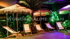 Karibik-Lounge - WUNDERRÄUME GmbH vermietet: Dekoration/Kulisse für Event, Messe, Veranstaltung, Incentive, Mitarbeiterfest, Firmenjubiläum