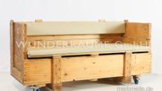rustikale Holzsofas / Sofa rustikal - WUNDERRÄUME GmbH vermietet: Dekoration/Kulisse für Event, Messe, Veranstaltung, Incentive, Mitarbeiterfest, Firmenjubiläum