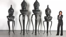 Buddha Büste - WUNDERRÄUME GmbH vermietet: Dekoration/Kulisse für Event, Messe, Veranstaltung, Incentive, Mitarbeiterfest, Firmenjubiläum