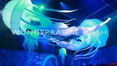 Quallen - WUNDERRÄUME GmbH vermietet: Dekoration/Kulisse für Event, Messe, Veranstaltung, Incentive, Mitarbeiterfest, Firmenjubiläum