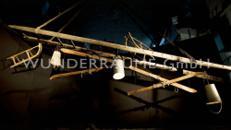 rustikale Leiterndekoration - WUNDERRÄUME GmbH vermietet: Dekoration/Kulisse für Event, Messe, Veranstaltung, Incentive, Mitarbeiterfest, Firmenjubiläum