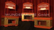 nostalgische Lostruhen - WUNDERRÄUME GmbH vermietet: Dekoration/Kulisse für Event, Messe, Veranstaltung, Incentive, Mitarbeiterfest, Firmenjubiläum