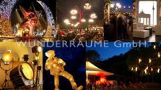 Lichtdekorationen, Lampen, Illuminationen WUNDERRÄUME GmbH vermietet: Dekoration / Kulisse für Event, Messe, Veranstaltung, Incentive, Mitarbeiterfest, Firmenjubiläum