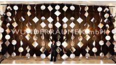 Spiegelvorhänge - WUNDERRÄUME GmbH vermietet: Dekoration/Kulisse für Event, Messe, Veranstaltung, Incentive, Mitarbeiterfest, Firmenjubiläum