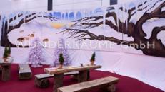 Winterprospekt - WUNDERRÄUME GmbH vermietet: Dekoration/Kulisse für Event, Messe, Veranstaltung, Incentive, Mitarbeiterfest, Firmenjubiläum